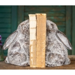 Cast Iron Bunny Bookends Set from CTW Home Collection