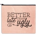Better Late Than Ugly Travel Makeup Bag from CTW Home Collection