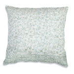 Blossom Cotton Euro Sized Decorative Throw Pillow 26x26 from CTW Home Collection