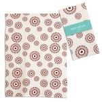 Round Geometric Design Cotton Kitchen Dish Tea Towel 20x28 from CTW Home Collection