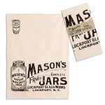Mason Jars Themed Cotton Kitchen Dish Tea Towel 20x28 from CTW Home Collection
