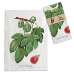 Fig Tea Print Design Cotton Kitchen Dish Towel 20x28 from CTW Home Collection