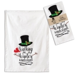 Walking in a Winter Wonderland Cotton Kitchen Dish Tea Towel 20x28 from CTW Home Collection