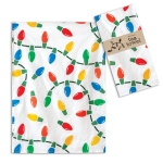 Christmas Lights Cotton Kitchen Dish Tea Towel 20x28 from CTW Home Collection