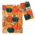 Pumpkins and Squash Print Design Cotton Kitchen Dish Tea Towel 20x28 from CTW Home Collection