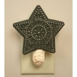 Punched Star Shaped Night Light 4.5 Inch x 5.5 Inch from CTW Home Collection