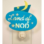 Moon & Stars Land Of Nod Night Light 4.5 Inch x 6 Inch from CTW Home Collection