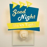 Marquee Style Good Night Sleep Tight Night Light 4x5 from CTW Home Collection