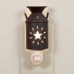 Star Accent Rustic Milk Pitcher Shaped Night Light 5.5 inch from CTW Home Collection