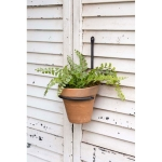 Forged Metal Plant Hanger Terra Cotta Pot Set from CTW Home Collection