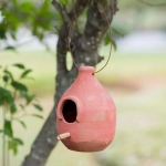 Large Terra Cotta Hanging Birdhouse from CTW Home Collection