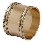 Antique Gold Band Napkin Ring from Design Imports