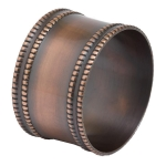 Antique Copper Band Napkin Ring from Design Imports