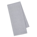 Granite Gray Diamond Mosaic Cotton Dish Towel 18x28 from Design Imports