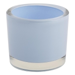 Baby Blue Glass Votive Candle Holder 3.5 Inch from Design Imports