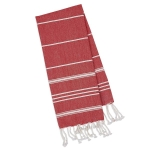 Ribbon Red Cotton Fouta Kitchen Dish Towel 20x30 from Design Imports