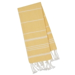Snapdragon Yellow Cotton Fouta Kitchen Dish Towel 20x30 from Design Imports
