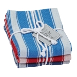 Maritime Heavyweight Cotton Dish Towels 18x28 Set of 3 from Design Imports