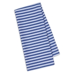 Blueberry Petite Striped Cotton Dish Towel 18x28 from Design Imports