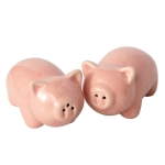 Pink Pigs Ceramic Salt & Pepper Shaker Set from Design Imports
