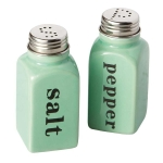 Celadon Ceramic Salt & Pepper Shaker Set from Design Imports