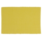 Snapdragon Yellow Cotton Table Placemat 13x19 from Design Imports