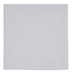 White Cotton Table Napkin 20x20 from Design Imports