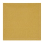 Snapdragon Yellow Cotton Table Napkin 20x20 from Design Imports