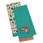 This Is How We Roll! Cotton Camper Themed Dish Towels 18x28 Set of 2 from Design Imports