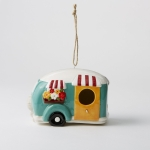 Ceramic Camper Design Ceramic Birdhouse 8x6 from Design Imports