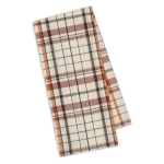 Spiced Fall Colors Dobby Plaid Cotton Kitchen Dish Towel 18x28 from Design Imports