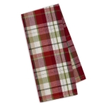 Mountain Trail Plaid Cotton Dish Towel 18x28 from Design Imports