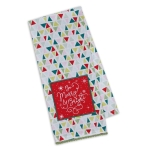 Be Merry & Bright Embellished Cotton Dish Towel 18x28 from Design Imports