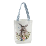 Garden Bunny Cotton Gift Bag Tote from Design Imports