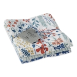 Set of 3 Flower Bloom Garden Cotton Dish Towes 18x28 from Design Imports