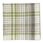 Herb Garden Plaid Cotton Table Napkin 20x20 from Design Imports