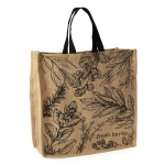 Fresh Herbs Printed Cotton Tote Bag from Design Imports