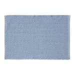 True Blue Dobby Stripe Cotton Table Placemat 13x19 from Design Imports