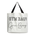 Gym Bag Gin Bag Cotton Tote Bag from Design Imports