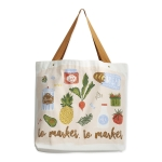 To Market To Market Tote Cotton Tote Bag from Design Imports