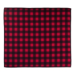 Red & Black Buffalo Checks Countertop Dish Drying Mat from Design Imports