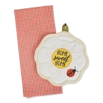 Ladybug Themed Potholder & Dish Towel Gift Set from Design Imports