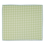 Lime Green Spring Checks Coutnertop Dish Drying Mat 16x18 from Design Imports