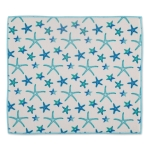 Starfish Print Design Countertop Dish Drying Mat 16x18  from Design Imports