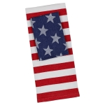 Stars & Stripes Red White Blue Cotton Dish Towel 18x28 and Dishcloth - Set of 2 from Design Imports