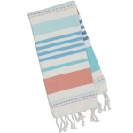 Atlantis Stripe Pastel Color Cotton Fouta Dish Towel 20x30 from Design Imports