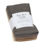 Neutral Tones Colors Bar Mop Cotton Dishcloth Set of 4 from Design Imports