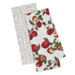 Apples Ready to Pick Cotton Dish Towels 18x28 (Set of 2) from Design Imports
