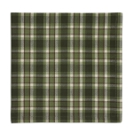 Cascade Forest Green & White Plaid Cotton Table Napkin 20x20 from Design Imports