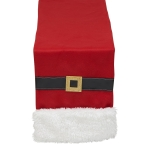 Santa Belt Polyester Table Runner Cloth 14x72from Design Imports